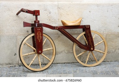 Old bicycle craft