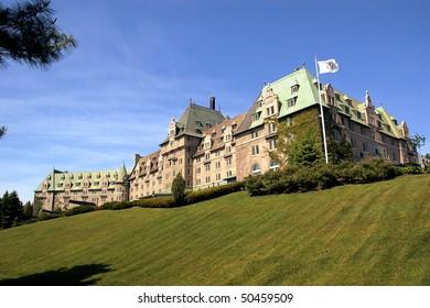 Old Big Manor Hotel of Quebec Canada