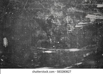 Old black background. Chalkboard
