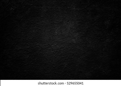 Old black background. Grunge texture