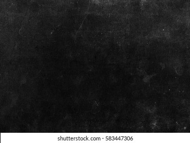 Old black background. Grunge texture. Blackboard