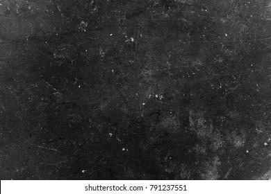 Old black background. Grunge wallpaper. Chalkboard. Grung. Cement