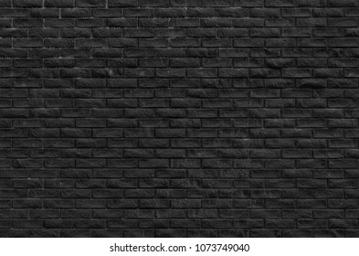 Old black brickwall background