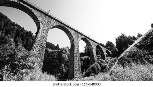 Old black forest bridge