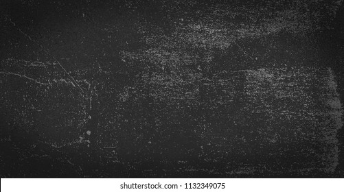 Old black gray background. Grunge texture. Dark wallpaper. Blackboard. Chalkboard.