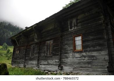 old black house