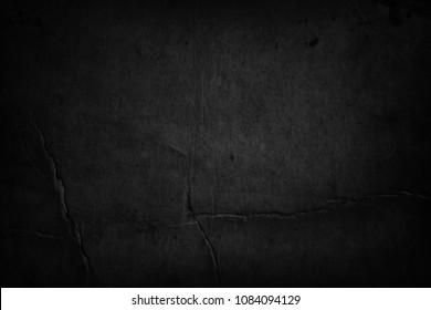 Old black paper background