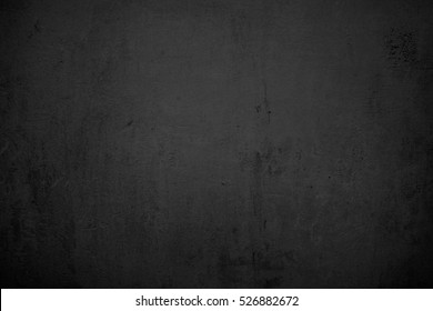 Old Black Wall Background