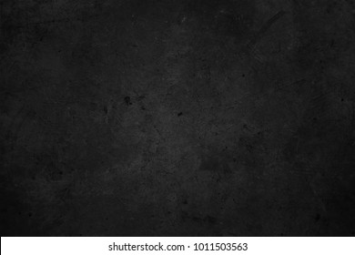 Old black wall. Grunge texture background. Chalkboard
