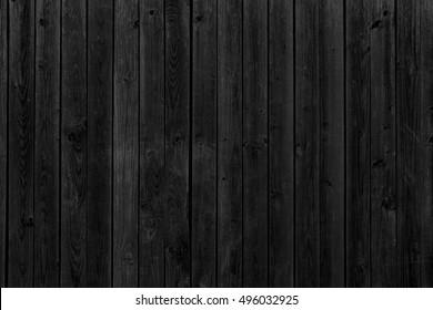 Old black wood. Grunge texture background