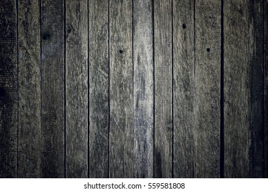 Old black wooden background