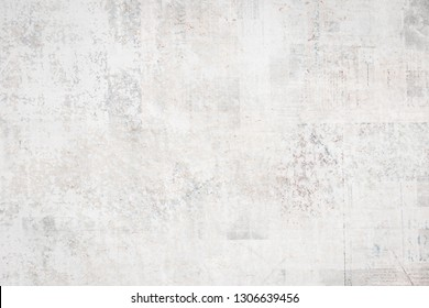 OLD BLANK NEWSPAPER BACKGROUND,  GRUNGE AND SCRATCHED PAPER TEXTURE, SPACE FOR TEXT
