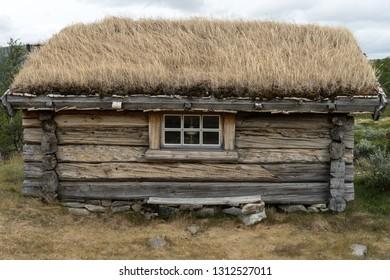 Old Blockhouse in Dovrefjell