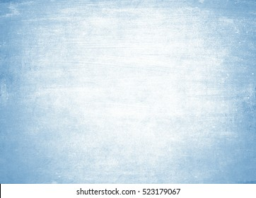 old blue background. Ice texture