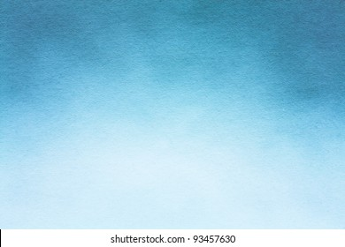 Old blue paper texture (horizontal) / Watercolour paper texture for artwork