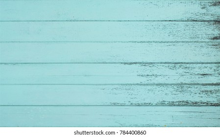 The old blue wood texture is smooth. Old wood texture background with grunge texture Top view of vintage wood with natural wood texture.