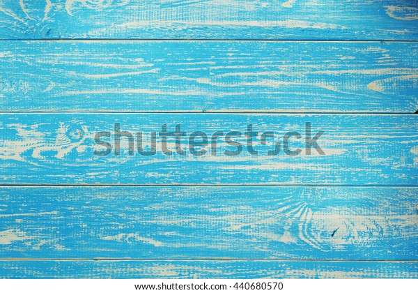 old blue wooden background texture