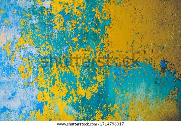 old-blue-yellow-rusty-iron-600w-17147960