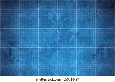 old blueprint background texture.
