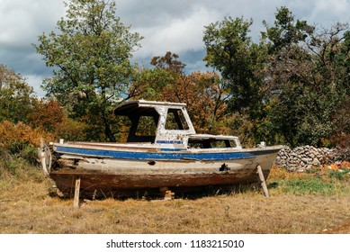 Old boat wreck