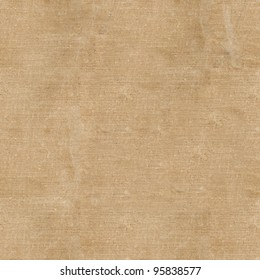 old book in a cloth cover on a white background. seamless fabric texture