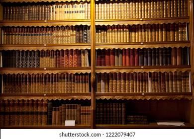 old book library