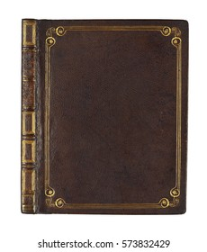 old book vintage book cover - Shutterstock ID 573832429