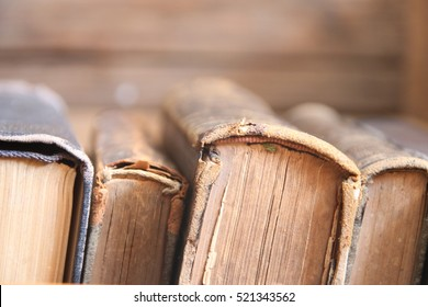 old books on shelf, soft focus, school, education, college concept
