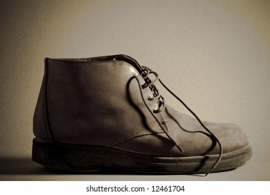 Old Boot series - shot with warm tones.