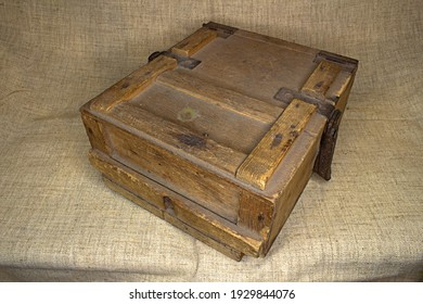 old box container for the tool