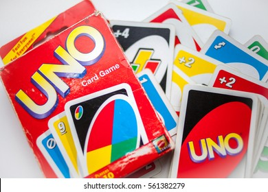 Old Box Uno Card Game Cards Stock Photo (Edit Now) 561382327