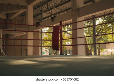 Old boxing ring