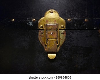 Old Brass Trunk Latch