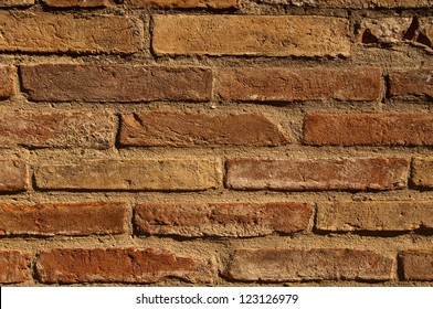 An old brick background