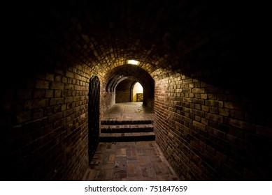 Old brick basement