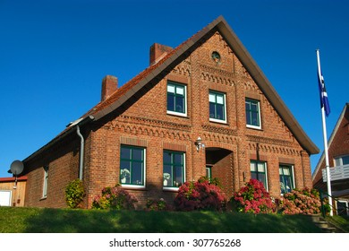 Elegant Old Brick House In The Old Land Northern Germany