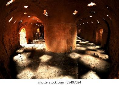 Old brick kiln