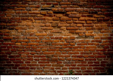 Old brick wall background image