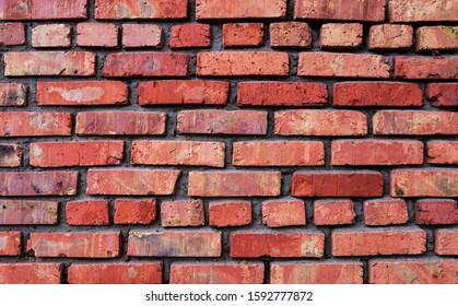 old brick wall red brick texture - Shutterstock ID 1592777872