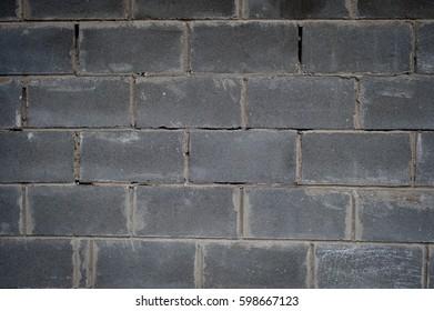 Old brick walls colored texture