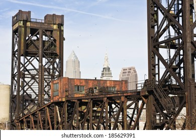 Old Bridge in Downtown Cleveland