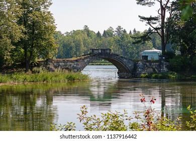 The Old Bridge of Gatchina