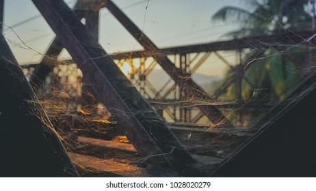old bridge in Luang Prabang