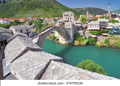 Old bridge in Mostar Bosnia and Herzegovina.