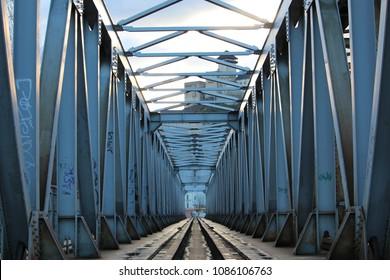 Old bridge in Tren?ín, Slovakia
