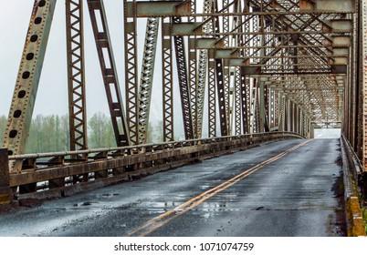 Old Bridge Structure