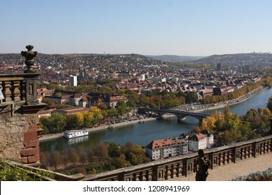 Old bridge in Wurzburg Bavaria Germany - a city in the region of Franconia, northern Bavaria, Germany. Located on the Main River, it is the capital of the Regierungsbezirk of Lower Franconia.
