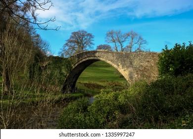 Old Brig O Doon at Alloway Ayr Scotland