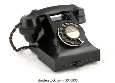 Old British Telephone