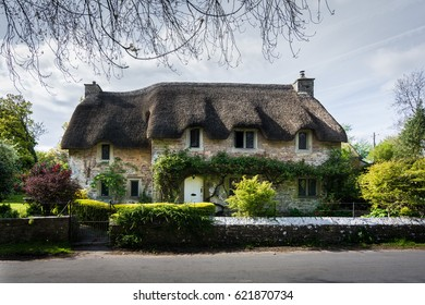 Old British Thatched Cottage